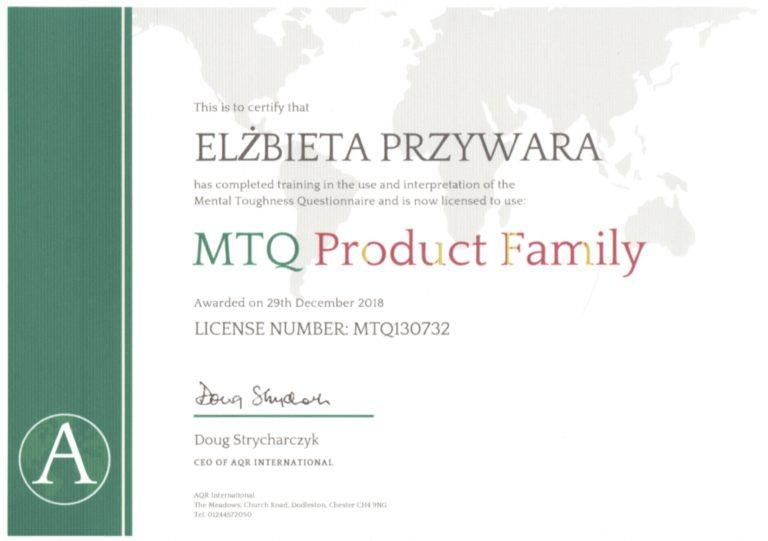 certyfikat MTQ48